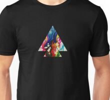 Abstract Geometry: Swirling Psychedelia (Colorful) Unisex T-Shirt