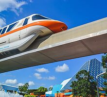 Monorail Orange by seira77