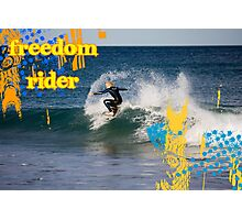 Freedom Rider Photographic Print