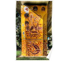 Cowra Painted Pylon 3 Poster
