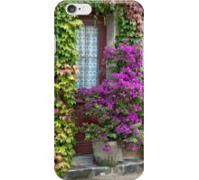 Ivy And Bougainvillea iPhone Case/Skin
