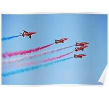 The Red Arrows, Hastings Poster
