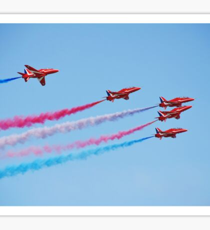 The Red Arrows, Hastings Sticker
