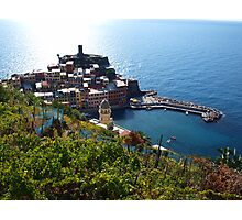 Vernazza from above Photographic Print