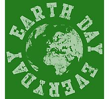 Retro Earth Day Everyday  Photographic Print