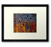 Nouveau Evening Framed Print