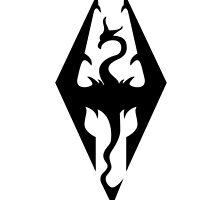 Skyrim Logo by caitykins