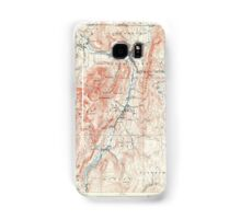 Massachusetts  USGS Historical Topo Map MA Greylock 352743 1898 62500 Samsung Galaxy Case/Skin