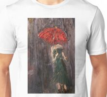 Pink Umbrella  Unisex T-Shirt