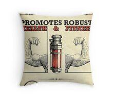 Sokolov's Elixir Dishonored Poster Throw Pillow