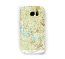 Massachusetts  USGS Historical Topo Map MA Ashburnham 349943 1965 24000 Samsung Galaxy Case/Skin