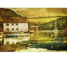 The Helford river at Gweek Photographic Print