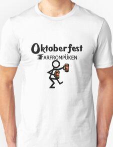 Oktoberfest farfrompukin geek funny nerd Unisex T-Shirt