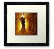 be my autumn     Framed Print