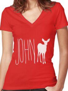 Max's Shirt - John Doe Women's Fitted V-Neck T-Shirt