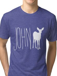 Max's Shirt - John Doe Tri-blend T-Shirt