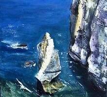The Stack, Flamborough by Sue Nichol