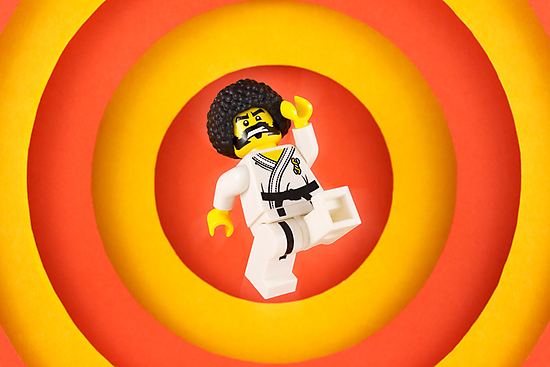 Afro Karate Guy by powerpig