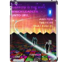 MATTHEW 7:14 - NARROW IS THE WAY iPad Case/Skin