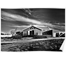 Historic Murray Downs Woolshed | Hay NSW Poster