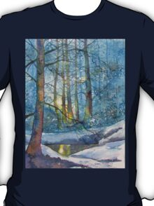 Winter Light in the Forest T-Shirt