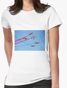 Red Arrows aerobatic team Womens Fitted T-Shirt