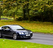 Bentley Continental GT by Mike Kay
