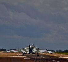 Vulcan Bomber touchdown by Andicurrie