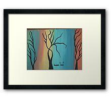 fantasy desert Framed Print
