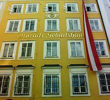Mozarts Geburtshaus by Ellanita
