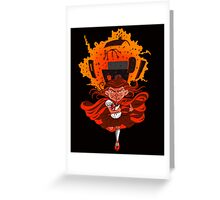 Don't mess with Lil' Red!  Greeting Card