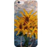 7 Sunflowers iPhone Case/Skin