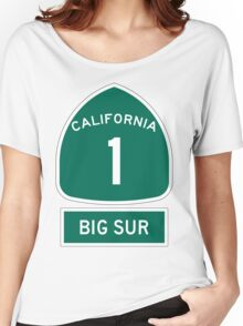 PCH - CA Highway 1 - Big Sur Women's Relaxed Fit T-Shirt