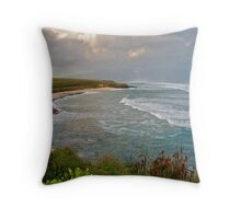 Ho'okipa Beach Park, Maui Throw Pillow