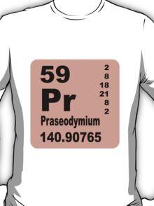 Praseodymium Periodic Table of Elements T-Shirt