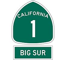PCH - CA Highway 1 - Big Sur Photographic Print