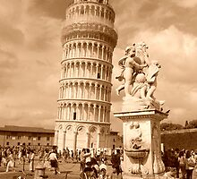 TOWER OF PISA by Carlo Sebastiani