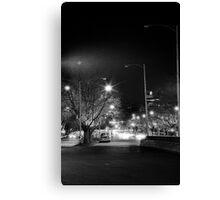 """melbourne - """"Streetscape"""" #1 Canvas Print"""