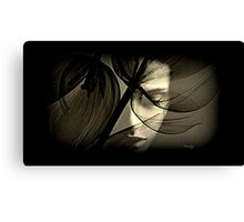 forever thinking and thinking  Canvas Print