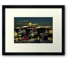 Time seems to stand still Framed Print