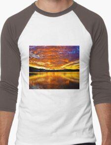 Burning sky Men's Baseball ¾ T-Shirt