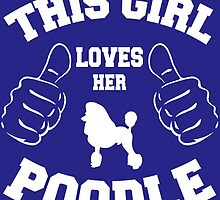 This girl loves her poodle by imgarry