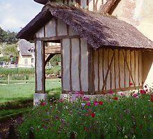 Versailles Queen's hamlet pretty mill garden by BronReid