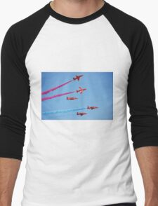 RAF The Red Arrows Men's Baseball ¾ T-Shirt