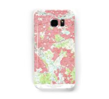 Massachusetts  USGS Historical Topo Map MA Newton 350376 1970 24000 Samsung Galaxy Case/Skin