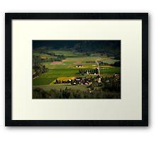 SmallVille Framed Print