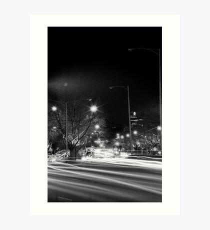 "Melbourne - ""Streetscape"" #4 Art Print"