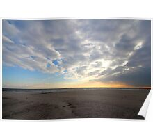 Fire Island Sunset Poster