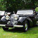 Triumph Roadster   1946-48 Black by Dawnsuzanne