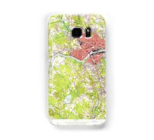 Massachusetts  USGS Historical Topo Map MA Lawrence 350232 1955 24000 Samsung Galaxy Case/Skin